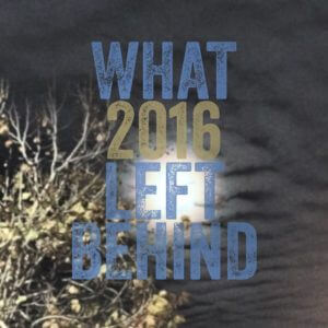 What 2016 Left Behind